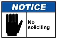 勧誘通知なし メタルポスタレトロなポスタ安全標識壁パネル ティンサイン注意看板壁掛けプレート警告サイン絵図ショップ食料品ショッピングモールパーキングバークラブカフェレストラントイレ公共の場ギフト