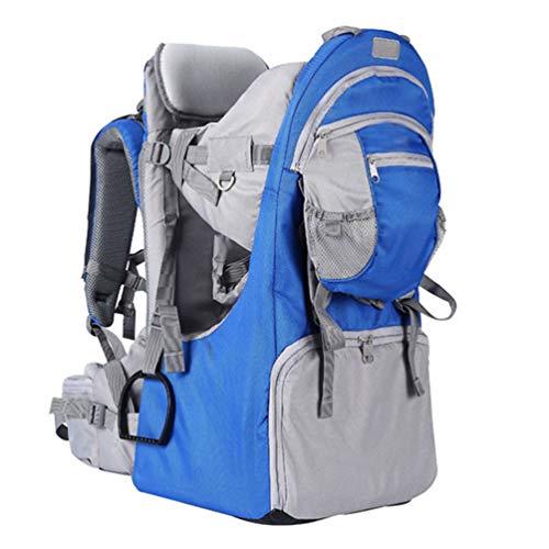 Mochila-Porta-Bebé para Bebés y Niños de hasta 25 Kg Gran Comodidad para Senderismo Trekking Viajes Portabebés,Royal Blue