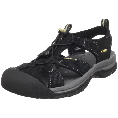 KEEN Men's Venice H2 Sandal,Black,8.5 M US
