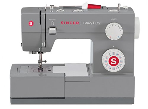 Singer Heavy Duty – Sewing Machines (Electric, Grey, Buttonhole Foot, Cover)