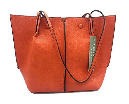 Sondra Roberts Tote Bag, Orange