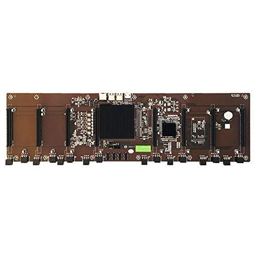 Memea Introducción directa, ocho ranuras para tarjetas, condensador de cuerpo sólido BTC B250 B85, soporte para placa base multitarjeta para ordenador
