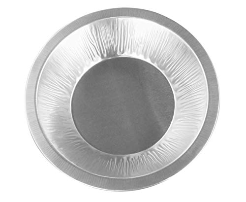 "Disposable/Reusable Heavy-Duty Aluminum 6"" Mini Pie Pans"