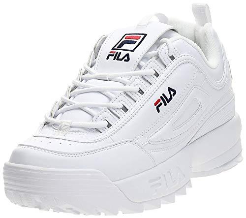 Fila Disruptor Low 1010262-1fg, Zapatillas para Hombre, Bianco (White 1fg), 44 EU