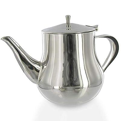 English Tea Store Stainless Steel Teapot Savoy 47oz