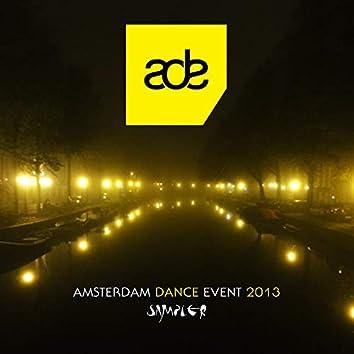 Amsterdam Dance Event 2013 Sampler