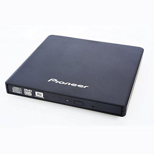 Pioneer DVR-XU01T 8X Externer Slim USB 2.0 DVDRW - Schwarz