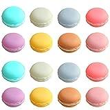 Rocutus 16 Pieces Macaron Case,Candy Color...