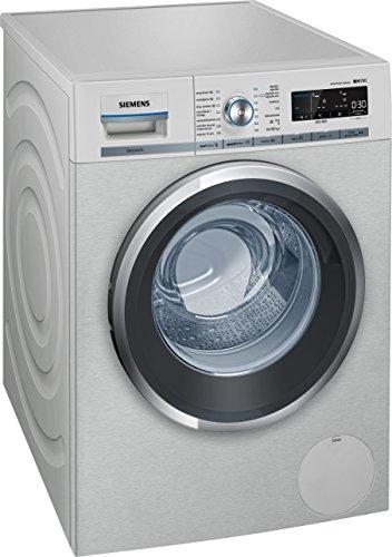 Siemens WM16W79XES Libera installazione Carica frontale 9kg 1600Giri/min A+++ Argento lavatrice