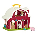 Battat – Big Red Barn – Animal Farm Playset for Toddlers 18m+ (6 pieces)