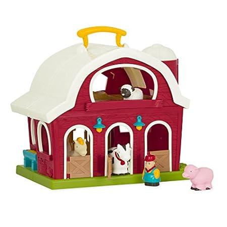 Battat – Große Scheune – Bauernhof Spielzeug Set mit Tieren