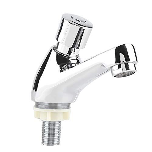 Freisprechen Einfach zu installierende Spüle Wasserhahn Bad Eitelkeit Wasserhahn Zeitverzögerung für Batrhoom für den gewerblichen Gebrauch