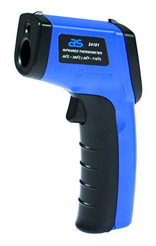 as - Schwabe 24101 Infrarot Thermometer/Pyrometer, berührungslose Messung der Temperatur von-50 bis...