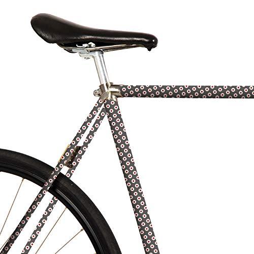For Sale! MOOXIBIKE Unisex– Adult's Fahrradfolie mit Muster für Rennrad Road Bike Sticker, Grey...