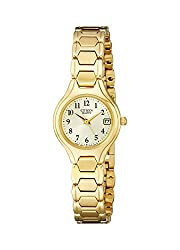 Citizen Quartz Women EU2252-56P Gold Tone Stainless Bracelet Watch - see my review