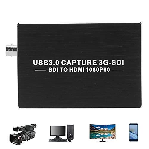 Placa de captura de vídeo, dispositivo de captura de vídeo USB3.0 portátil para emenda de tela grande para monitoramento de segurança para gravador VDR para gravação de conferência