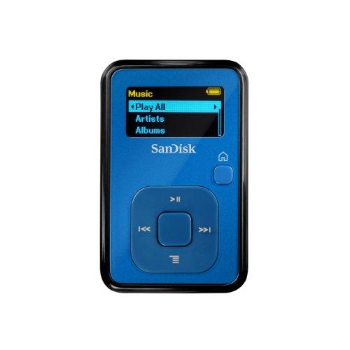SanDisk Sansa Clip+ 4 GB MP3 Player (Blue) (Discontinued by Manufacturer)