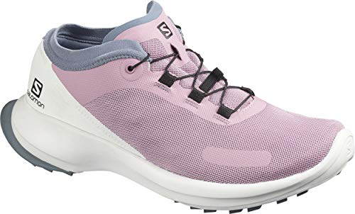 Salomon Sense Feel W, Zapatillas para Correr para Mujer, Morado (Mauve Shadows/White/Flint...