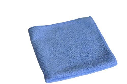 Semy Top Mikrofasertücher, blau, 40 x 40 cm, 1er Pack (1 x 20 Stück)