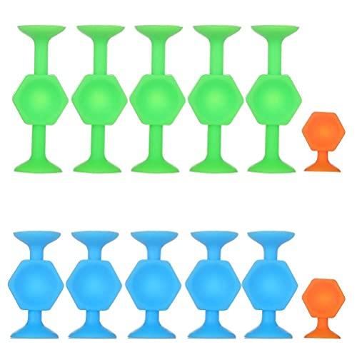 HUSHUI Pop Sucker Spielzeug, Squeeze Toy, Pop Darts Spiel Sticky Set Popdarts Challenge Saugnapf Stress Relive Spiele für Kinder