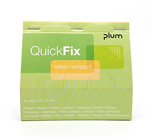 QuickFix Pflaster wasserfest Nachfüllpack (45 Pflasterstreifen 72 x 25 mm)
