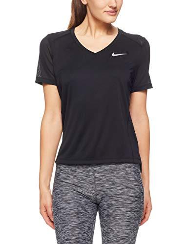 Nike Damen Miler T-Shirt, Black, XL