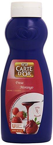 Carte D'Or - Sirope líquido - Sabor Fresa - 730 ml