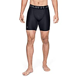 Under Armour Men's HeatGear Armour 2.0 6-inch Compression Shorts
