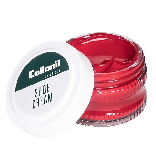 Collonil Shoe Cream 50 ml Rojo Flamme Crema De Cuidado Para Cuero Liso