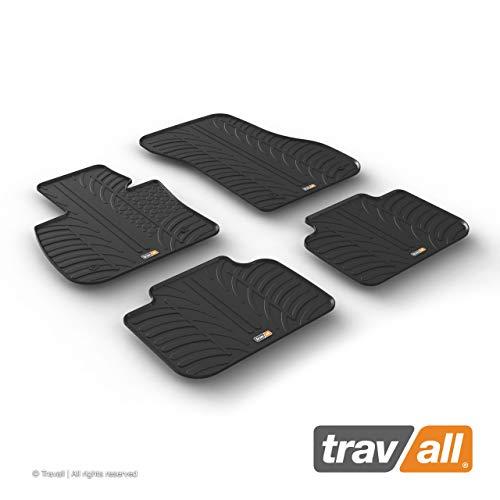 Travall Mats Tapis de Voiture Compatible avec BMW X1 F48 (2015 et Ulterieur) TRM1289 - Tapis de Sol en Caoutchouc sur Measure