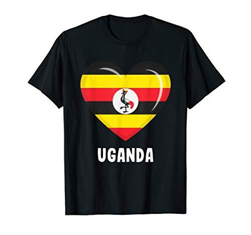 Trikot mit ugandischer Flagge   Uganda T-Shirt