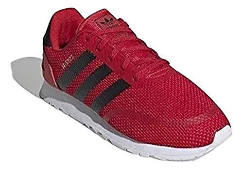 adidas Niño N-5923 C Zapatos de Correr Rojo, 29