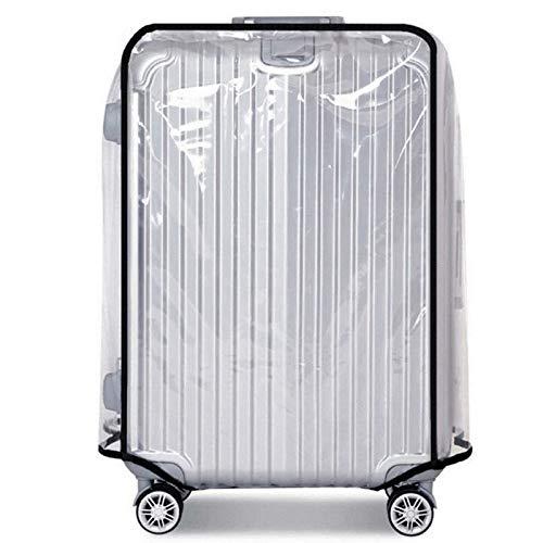 Warmiehomy Copri Valigie, Impermeabile Copertura Protettore di Bagagli, Suitcase Borsa Bagagli Cover Proteggi Trasparente PVC Anti-Polvere AntiGraffio, per Affari Scuola Viaggi Utilizzo Quotidiano