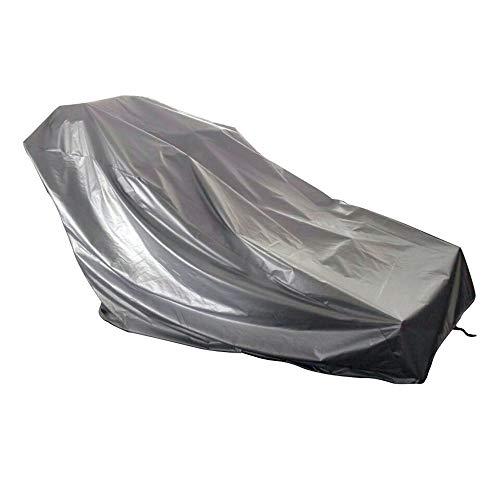 WAGX Cubierta Impermeable Cinta de Correr, Deportes máquina Corriente a Prueba de Polvo Cubierta para Exterior - 210D Oxford Tela, Lluvia y Resistencia Sol - para la mayoría de los Modelos,Plata,S