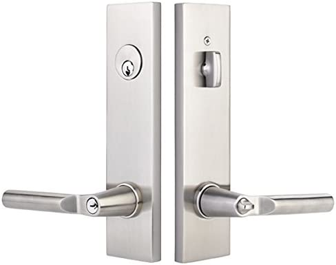 lowest EMTEK Single Cylinder Two Point new arrival Lock with Matching Finish Helios Lever - Choice of Left or Right Handing - Available in 7 Finishes - 5312HLORHUS10B - Right high quality Handed (RH) - Oil Rubbed Bronze (US10B) outlet online sale
