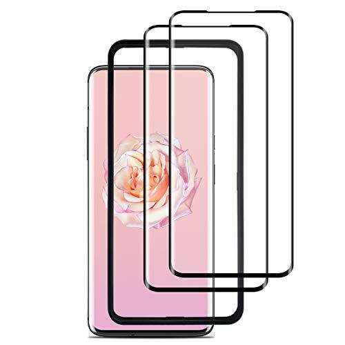 HDYAN [2 Stück OnePlus 7 Pro Panzerglas, [Ausrichtungsrahmen Einfache Installation] [Volle Bedeckung] Schutzfolie, [Blasenfrei][9H Festigkeit] Gehärtetem Glas Bildschirmschutzfolie für OnePlus 7 Pro