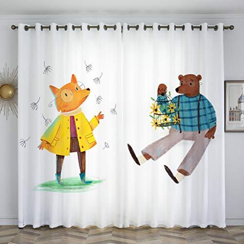 Vorhang Einfaches Schlafzimmer Wohnzimmer Trennwand Erker Französisch Fenster Nordische Stil Moderne Dekoration Kreative Persönlichkeit Zauberwald