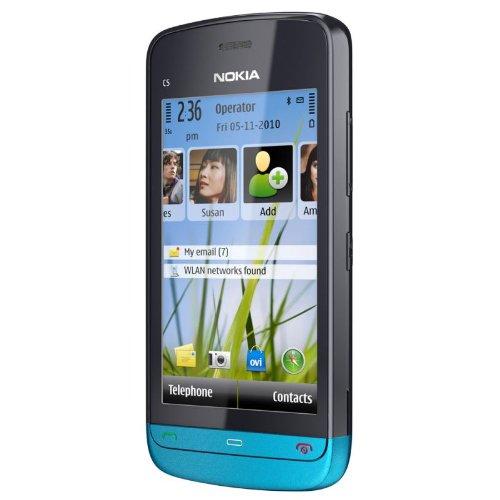 Nokia C5-03 (petrol blue)