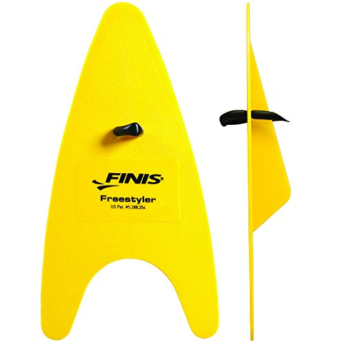 Finis Hand Paddel Freestyler, Yellow, One Size
