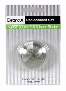 Cleancut K30SP - Foil replacement kit for ES412 personal shaver - Blade and foil replacement head included (B001CCUMQC) | Amazon price tracker / tracking, Amazon price history charts, Amazon price watches, Amazon price drop alerts
