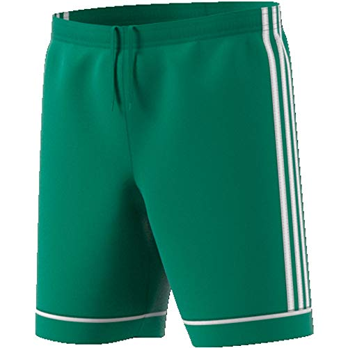 adidas Squadra 17 S, Pantaloncini da Calcio Bambino, Verde (Bold Green/White), 9-10 Y