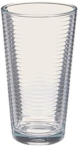 Home Essentials 275 Solar 16 Piece Drinkware Set Includes 8 coolers (16 Oz), 8 Rocks (13 Oz)