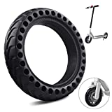 FOXNSK 8.5 Inch Solid Tire Tyre, Front/Rear Rubber Tire Wheel Replacement Anti-Slip Explosion-Proof Tire for Xiaomi Mijia M365 Electric Scooter 8 1/2x2 Anti-slip