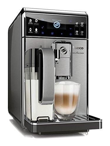 Saeco GranBaristo HD8975/01 - Cafetera (Independiente, Máquina espresso, 1,7 L, Molinillo integrado, 1900 W, Antracita,...