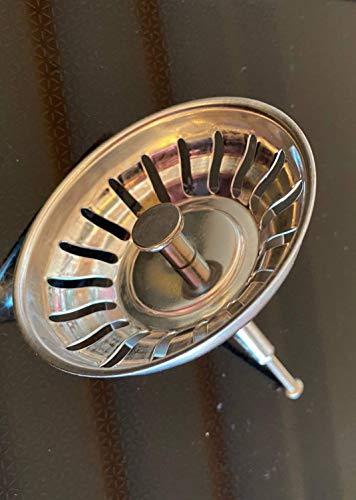 ZEMEX® Válvula de desagüe para fregadero de acero inoxidable 119146