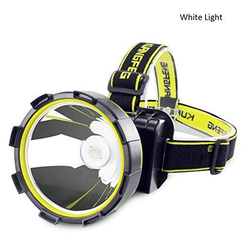 Faros delanteros LED de gran brillo para pesca nocturna, iluminación al aire libre, linterna S2F5