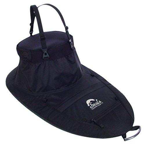SEALS Coastal Tour Sprayskirt, 1.7 Black One Size