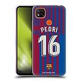Head Case Designs Licenciado Oficialmente FC Barcelona Pedri 2021/22 Jugadores Inicio Kit Grupo 1 Carcasa de Gel de Silicona Compatible con Xiaomi Redmi 9C
