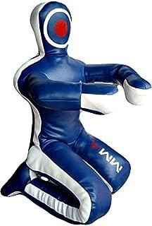 Bestzo MMA Martial Arts Brazilian Grappling Dummy-Sitting Position Blue-Unfilled