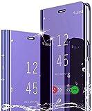 Étui SOUFU pour Coque Samsung Galaxy A32 4G, Miroir de...